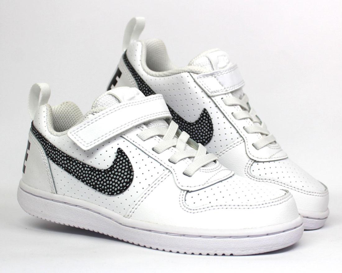 Nike Schuh Court Low Psv Sneaker Klettverschluss Kinder Borough eD2IYWbEH9