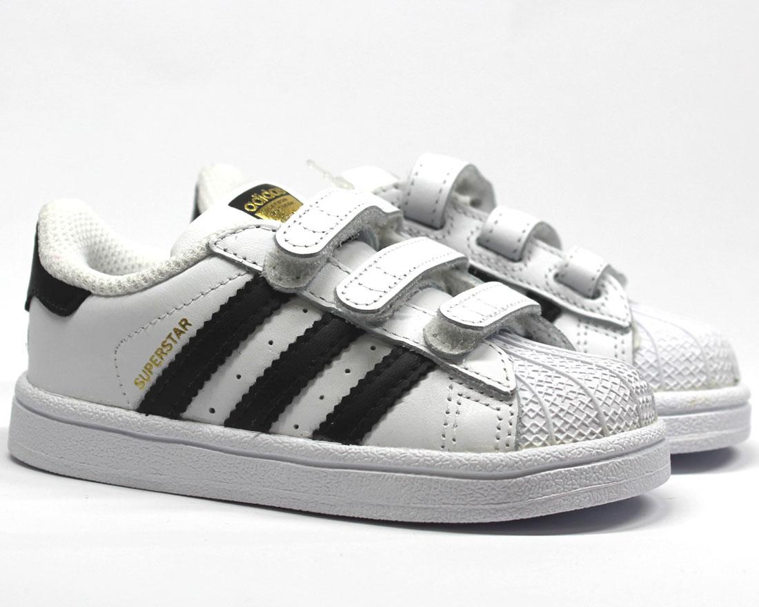 Details zu adidas SUPERSTAR C I Sneaker Schuhe Gr. 19 20 21 22 23 24 25 26 27 Neu
